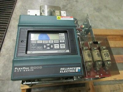 Nib Reliance Flexpak 3000 40 75 Hp Dc Drive 230/460V 75Fr4042