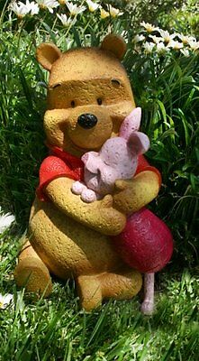 Disney Garden Statues Winnie The Pooh And Piglet Natural Stone