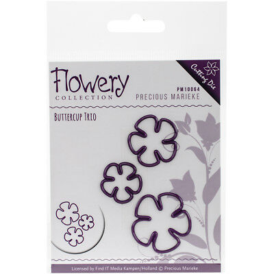 Find It Trading Precious Marieke Flowery Die Buttercup Trio PM10064