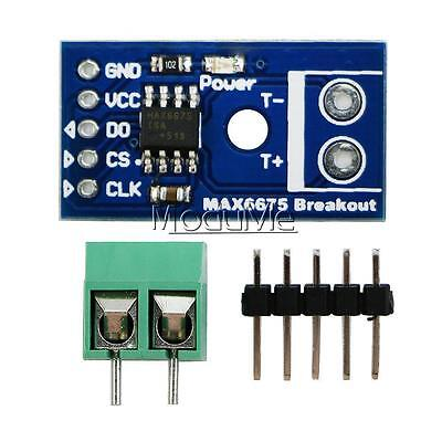 Arduino MAX6675 Type K Thermocouple Temperature Sensor Module SPI Interface MO