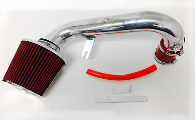 Red Air Intake System Kit Filter For 2001-2005 Honda Civic 1.7L 4CYL