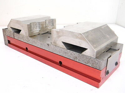 "USED ALLEN 4"" SELF CENTERING RHINOVISE With QUICK CHANGE ALUMINUM JAWS"