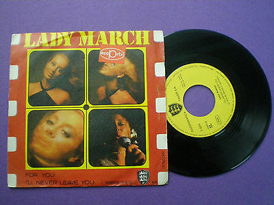 LADY MARCH For You SPAIN 45 TALAR 1971 Spanish FEMME SOUL GROOVE MOD