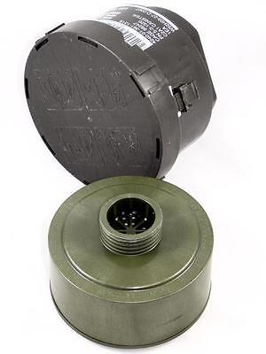 Military Surplus 40Mm Nato Nbc Gas Mask Filter C2A1 Canister 4240-01-361-1319