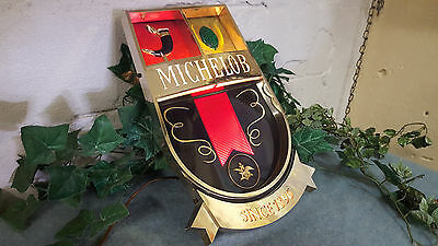 "Vintage Michelob ""Since 1896""  Lighted Beer Sign. RARE BAR  Electric Antique"