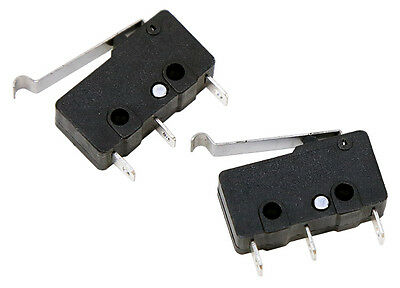 Mini Snap-Action Micro Switch (Off-set Lever) (2 pack) Part # 605632