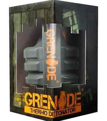 Grenade Fat Burner Thermo Detonator 100 Capsules New & Sealed Fast Weight Loss