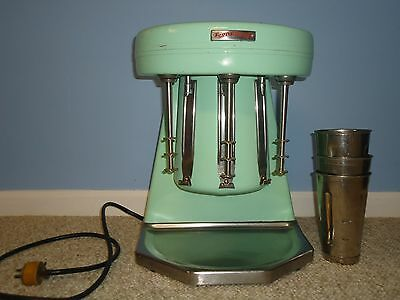 Vintage Sterling Prince Castle Multimixer Milkshake Blender 50's