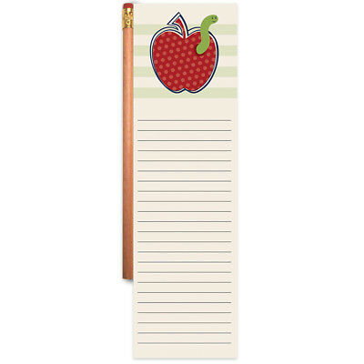 Magnetic List Pad With Pencil Apple 1922-6