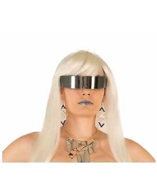 Futuristic WrapAround Costume Mirror Sunglasses Star Trek Alien Unisex Men Women