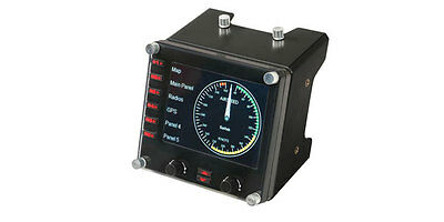 Logitech G Saitek Pro FLIGHT™ Instrument Panel for PC - USB