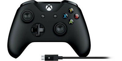 Microsoft Xbox Controller + Cable for Windows (Wired) & Xbox (Wired / Wireles...