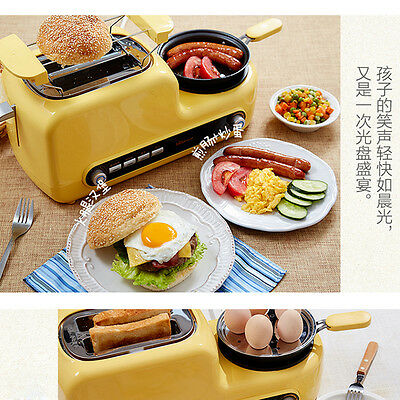 220V Functional Homemade Toaster Breakfast Machine Home Small Kitchen Appliances