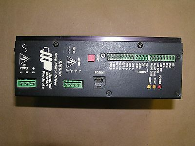 APPLIED MOTION PRODUCTS Si5580 AC STEP MOTOR DRIVER W/ Si PROGRAMMING UNUSED!!