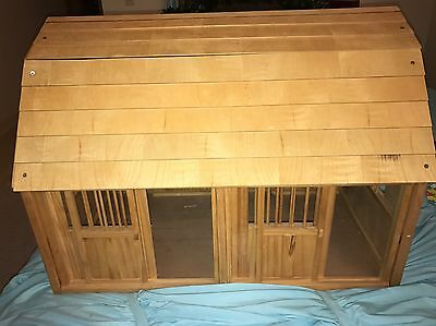"FREE SHIPPING Barely used rare breyer ""groton stable"" barn"