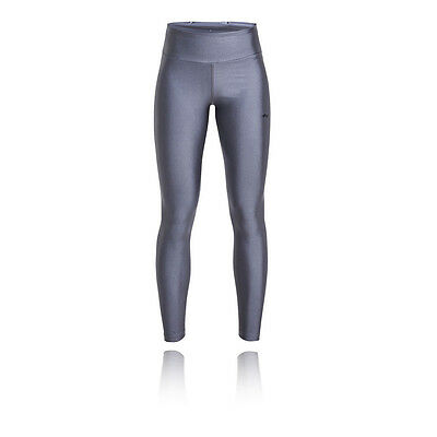 Rohnisch Liza Shiny Womens Silver Running Gym Long Tights Bottoms Pants