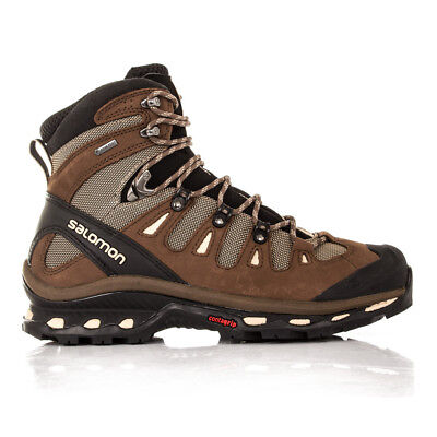 Salomon Quest 4D 2 Mens Brown Waterproof Gore Tex Walking Hiking Boots Shoes