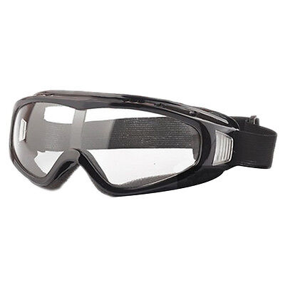 Airsoft Goggles Tactical Paintball Clear Glasses Wind Dust Protection Motor E4Q1
