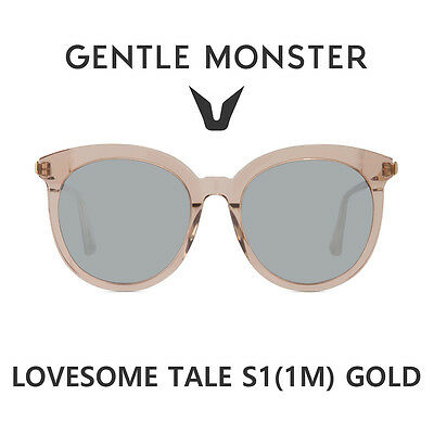 70728ba7e218 2018 NEW GENTLE MONSTER Authentic Sunglasses LOVESOME TALE S1(1M) GOLD