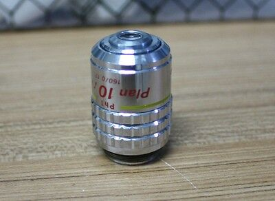 Nikon 10x Plan Phase Contrast Microscope Objective lens Ph1 10/0.30 DL 160/0.17