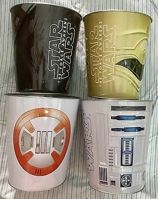 Star Wars The Force Awakens Australian Popcorn Tin Disney Lucasfilm Bucket Hoyts