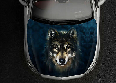 Decal for Car Y10 Car Accessories Space Wolf Decal Wolf Sticker Car Bumper Sticker Wolf Car Decal Car Decal for Man Car Sticker