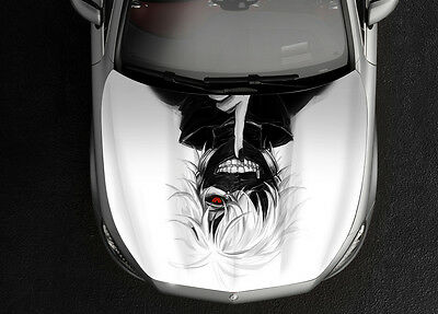 Tokyo Ghoul 3# Car Hood Wrap Full Color Vinyl Sticker Decal Fit Any Car