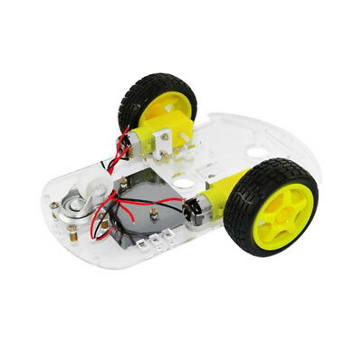 2WD Smart Robot Car Chassis For Arduino/Raspberry Pi Crumble Tracing