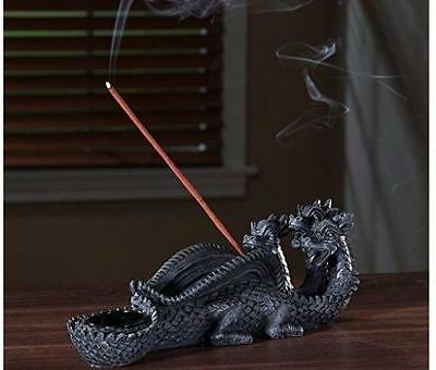 Incense Holder Gothic Medieval Stick Burner Dragon Aromatherapy Spa Home Decor