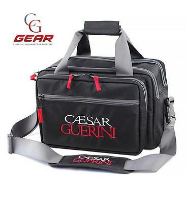 Caesar Guerini Shooters Range Bag Boxlock Cartridge Shotgun Strap Pockets New