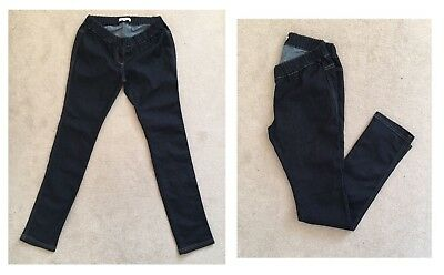2 X Size Us 2 Uk 6 Seraphine Ladies Maternity Skinny Jeggings Under The Bump