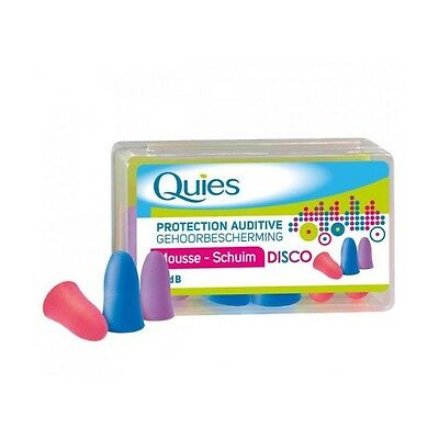 Quies protection auditive mousse bruits forts disco 3 paires