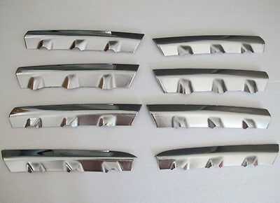 Front Grille Around Trim for 2007-2009 Nissan Qashqai Dualis Full Set ABS 8pcs
