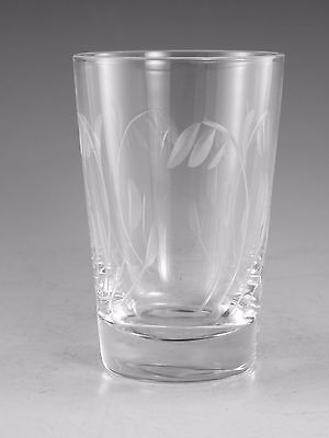 STUART Crystal - ELGIN Cut - Tumbler Glass / Glasses - 3 5/8""