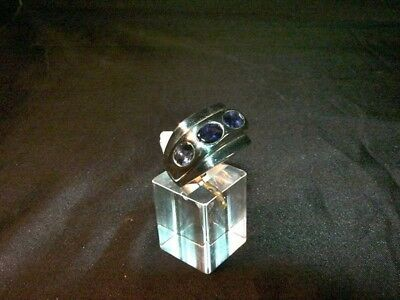 Ring  Silber 925 mit 4 x  Iolith