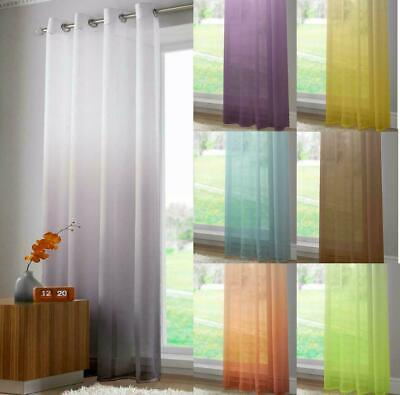 ombre achim greenite curtains sandstone sheer s modern contemporary