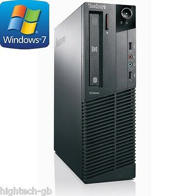 Lenovo ThinkCentre M91p Intel Core i7 2nd Gen 8 GB Ram 500 GB HDD Windows 7 WIFI