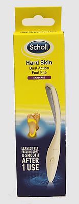 Scholl Hard Skin Dual Action Foot File- skin care soft & smooth feet after 1 use