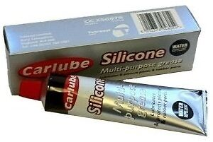 * Pack of 12 * Silicone Multi Purpose Plastic and Rubber Grease 20g [XSG020]
