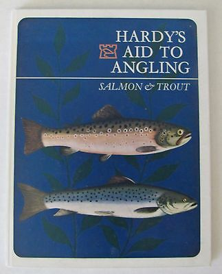 """""""Hardy's Aid To Angling"""" Salmon & Trout Hardback 1966"""