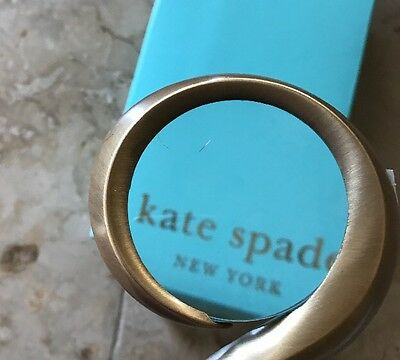 """NEW Kate Spade New York Magnifying Glass shaped as Question Mark Desk 6"""" Tall"""