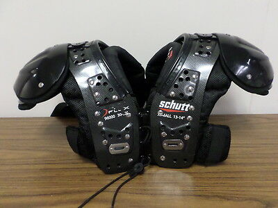 Schutt Youth Football Shoulder Pads Protection Size X Small Mid Flex 2.0 New