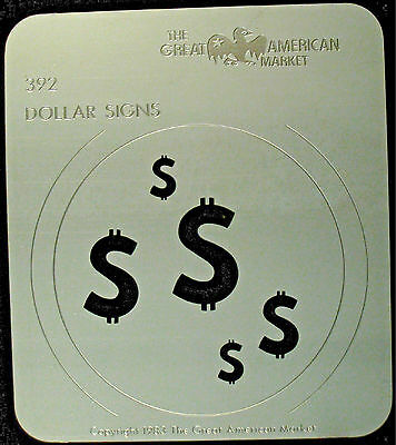 "Gobo template pattern - GAM 392 ""Dollar Signs"""