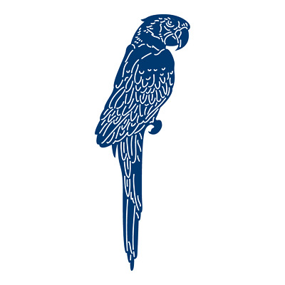 Tattered Lace 'PARROT' DIE TLD0183 from the Tropical Collection - FREE UK P&P