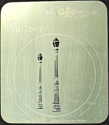 "Gobo template pattern - GAM 324 ""Street Light"""