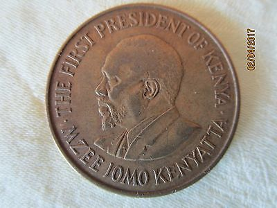 THE FIRST PRESIDENT OF KENYA-1969 Coin