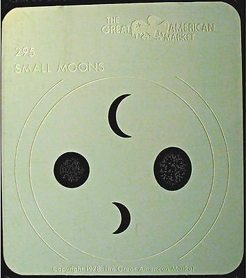 "Gobo template pattern - GAM 295 ""Small Moons"""