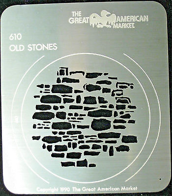 "Gobo template pattern - GAM 610 ""Old Stones"""
