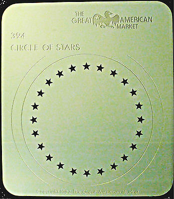 "Gobo template pattern - GAM 394 ""Circle of Stars"""