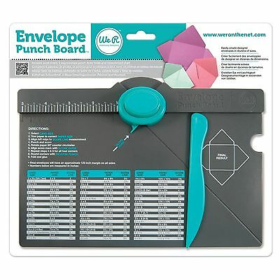 We R Memory Keepers Envelope Punch Board *NEW*FREE P&P*